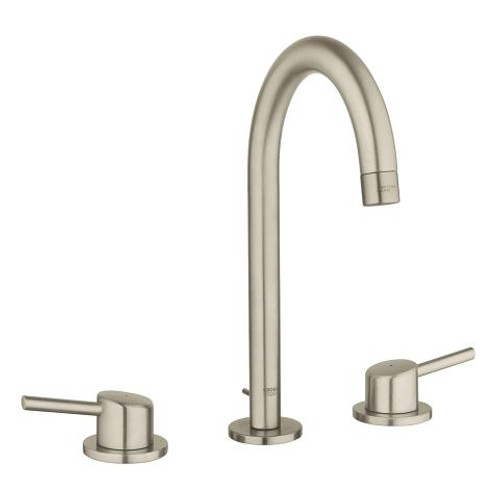 """Grohe Concetto 8"""" Widespread Two-Handle Bathroom Faucet L-Size Brushed Nickel Finish"""