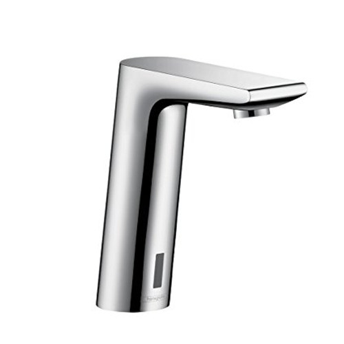 Hansgrohe Metris S Electronic Faucet with Preset Temperature Control Chrome Finish
