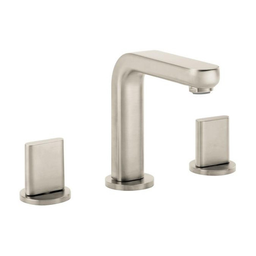 Hansgrohe Metris S Widespread Faucet with Full Handles Brushed Nickel Finish