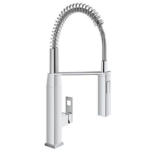 Grohe Eurocube Single-Handle Kitchen Faucet Chrome Finish