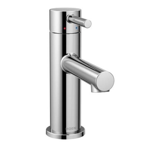 Align One-Handle High Arc Bathroom Faucet Chrome Finish