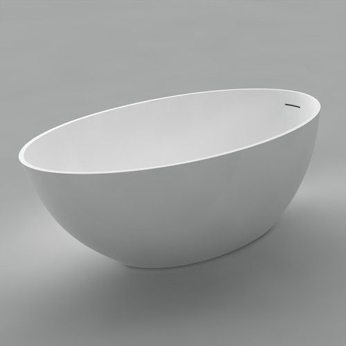 "Acritec Aida 63"" Freestanding Bathtub"