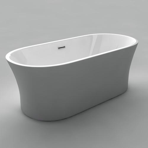 """Acritec Eve 67"""" Freestanding Bathtub"""