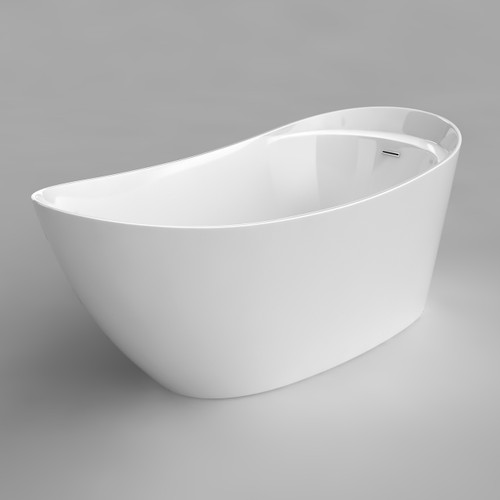 "Acritec Sherin 67"" Freestanding Bathtub"