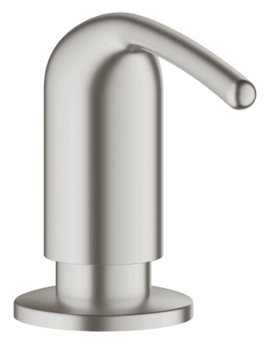 Grohe Ladylux Soap/Lotion Dispenser SuperSteel Finish