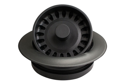 Karran Quartz Disposal Flange Black