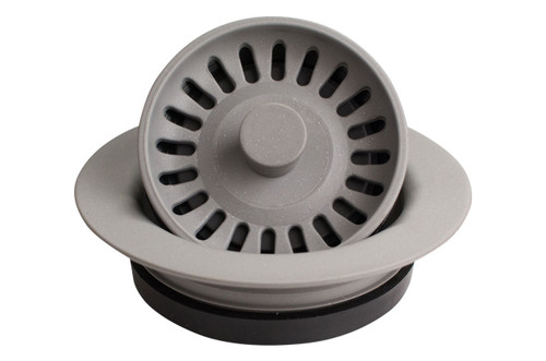 Karran Quartz Disposal Flange Grey