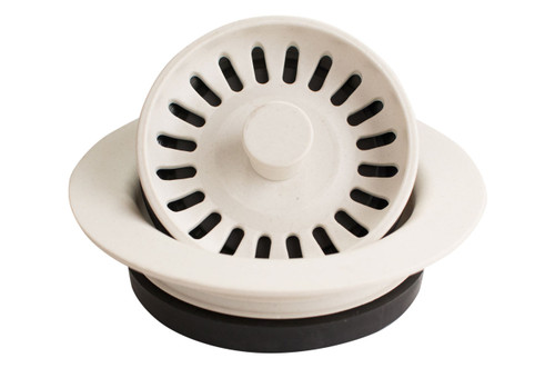 Karran Quartz Disposal Flange White