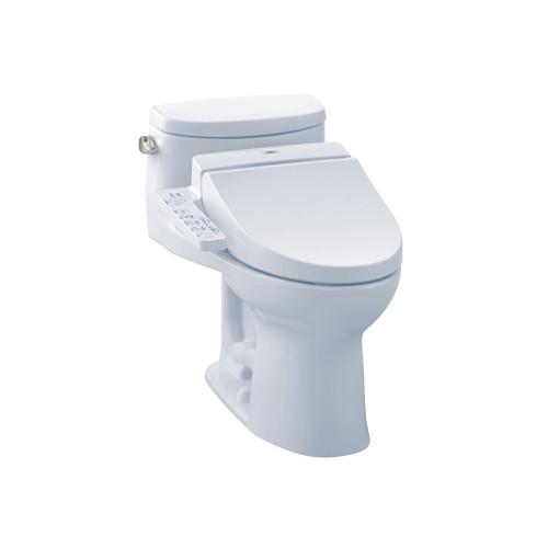 TOTO MW6342034CEFG Supreme II WASHLET C100 One Piece Toilet Cotton