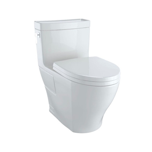 TOTO MS626124CEFG Aimes One Piece Elongated Toilet Washlet Connection Colonial White