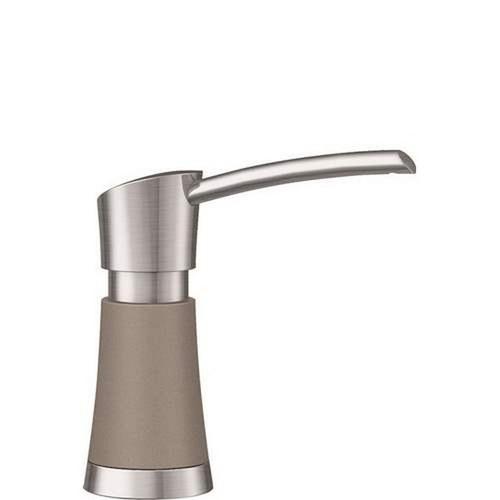 Blanco Artona Soap Dispenser in Stainless Finish / Truffle