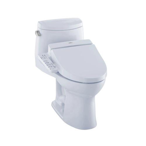 TOTO MW6042034CEFG UltraMax II WASHLET C100 One Piece Toilet Cotton