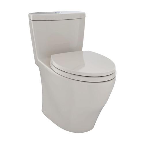 TOTO MS654114MF Aquia One Piece Toilet Bone