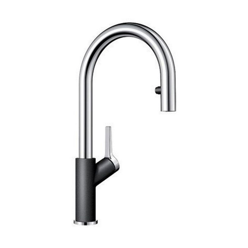 BLANCO URBENA Kitchen Faucet in Chrome / Anthracite