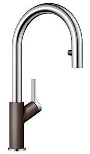 BLANCO URBENA Kitchen Faucet in Chrome / Café