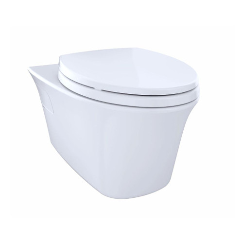 TOTO CT486FG Maris Wall Hung Dual Flush Elongated Toilet Cotton