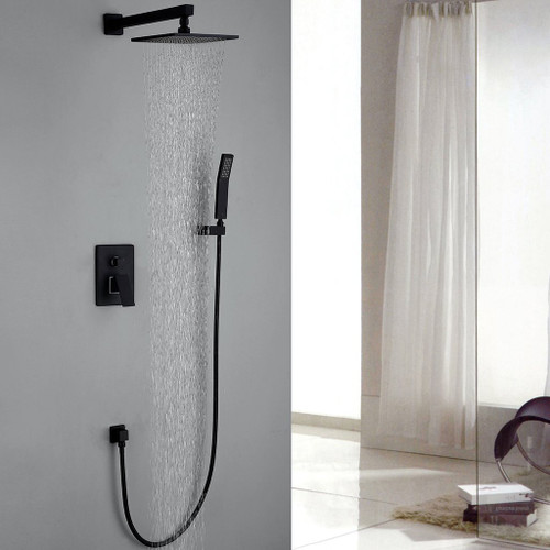 Midnight 2-Way Shower System Black