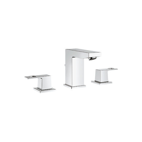 Grohe Eurocube Widespread Bathroom Sink Faucet with Double Lever Handles