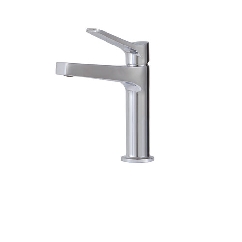 AquaBrass Metro Single-hole lavatory faucet Chrome Finish