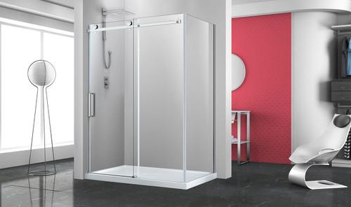 """Zitta Bellini Corner 1 Door 48"""", 1 Fixed, 1 Return 32"""""""