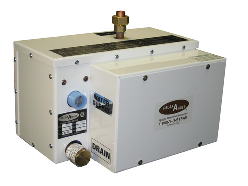 RELAX-A-MIST Steam Generator JR2 Chrome Trim