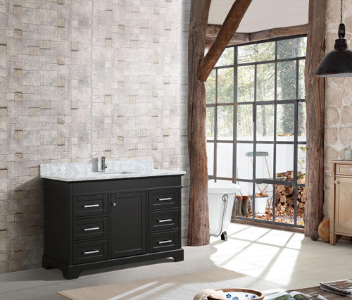 "Bayview 52"" Bathroom Vanity Espresso"