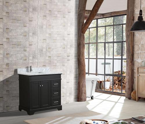"Bayview 36"" Bathroom Vanity Espresso"