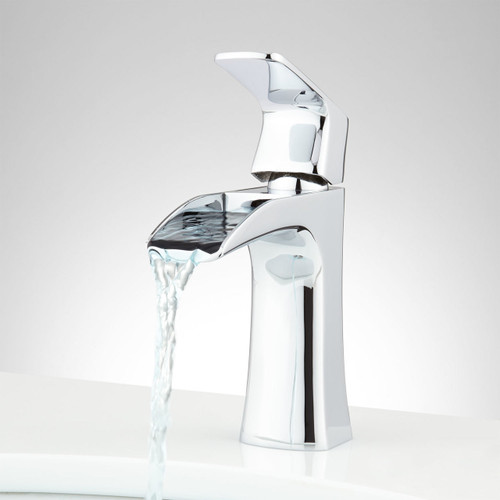Royal Costa Waterfall Single Handle Lav Faucet Chrome