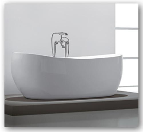 """Aqua Vida 67"""" Free Standing Soaker Bath Tub"""