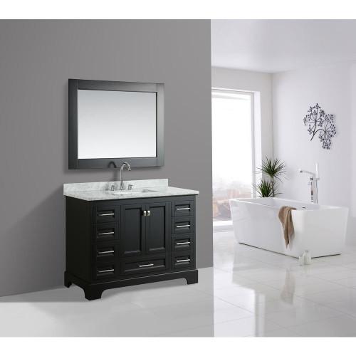 """Orlando 48"""" Bathroom Vanity Espresso"""