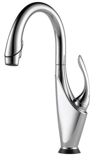 Brizo 64355LF-PC Vuelo SmartTouch Kitchen Faucet with Pulldown Spray - Chrome