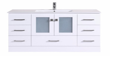 "Oakville 60"" Bathroom Vanity Single Sink"