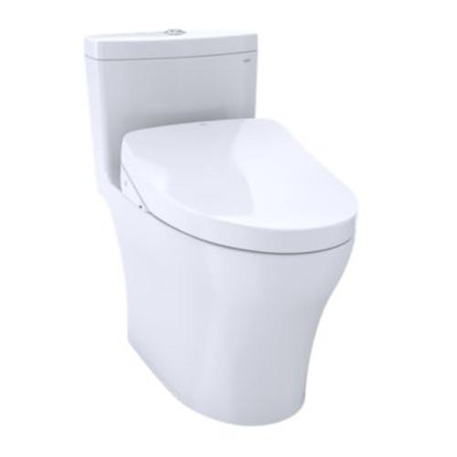 TOTO Aquia® IV - WASHLET®+ S500e One-Piece Toilet - 1.28 GPF & 0.8 GPF