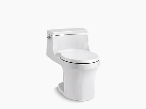 Kohler San Souci® one-piece round-front 1.28 gpf toilet with AquaPiston® flushing technology
