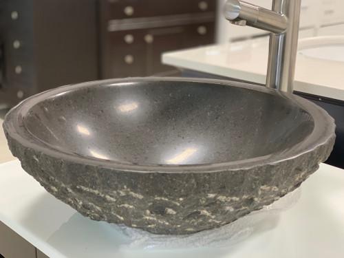 Jensen Marble Over Mount Bathroom Sink