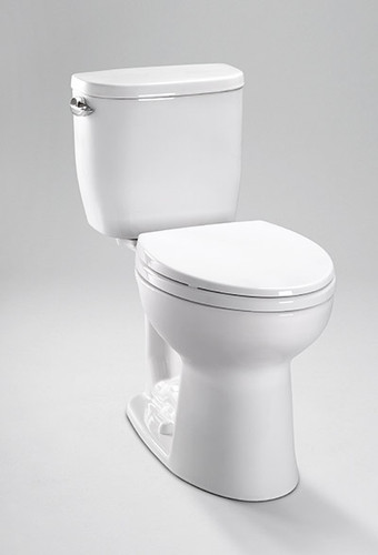 TOTO Entrada™ Close Coupled Round Front Toilet 1.28 GPF