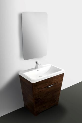 "William 31"" Wall Mount Bathroom Vanity"