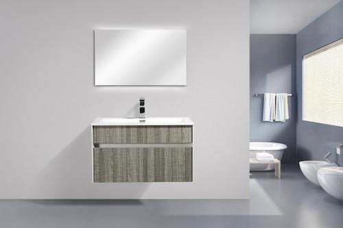"""Spring 31"""" Wall Mount Bathroom Vanity"""