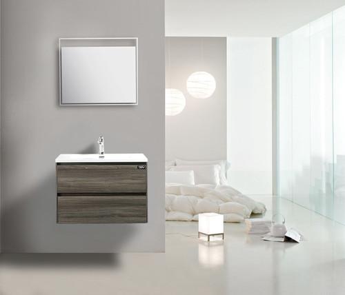 "Slice 24"" Wall Mount Bathroom Vanity"