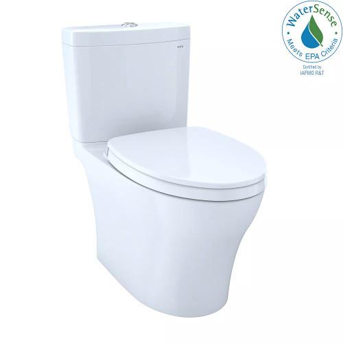 TOTO Aquia IV Elongated Toilet Cotton 2 Pc CST446CEMG