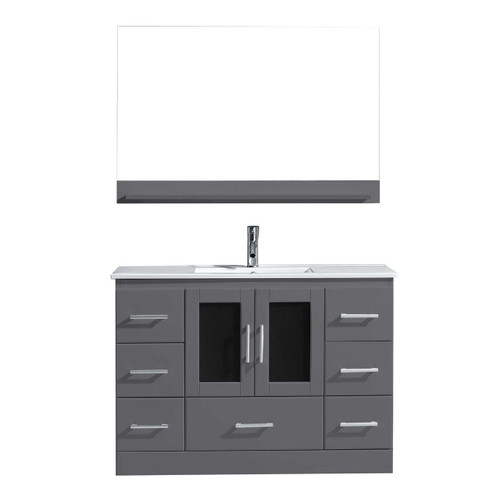 "Oakville 48"" Bathroom Vanity Ice Grey"
