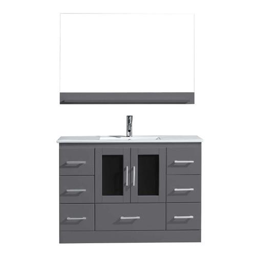 "Oakville 48"" Bathroom Vanity Ice Grey"