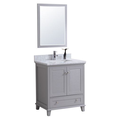 "Niagara 30"" Bathroom Vanity Grey"
