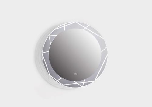 "Moon Mirror - Fluid LED Mirror 32"""