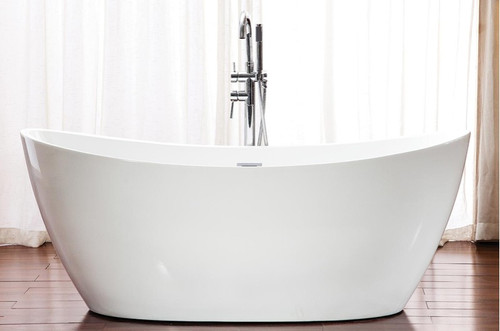 "Neptune Florence Freestanding Bath Tub 66 3/4"" x 32"""