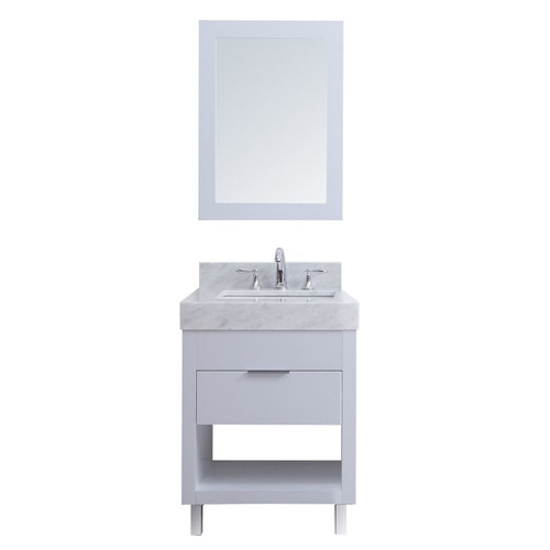 "SLS 30"" Bathroom Vanity White"