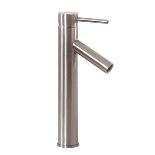 Royal Tall Faucet For Vessel Sinks Brushed Nickel