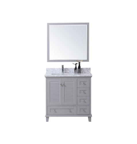 """Niagara 42"""" Bathroom Vanity Light Grey"""
