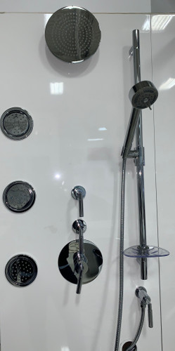 Rubi Dana Shower with Body Jets System Chrome COMPLETE