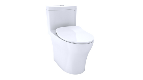 Toto Aquia® IV One-Piece Toilet - 1.28 GPF & 0.8 GPF, Elongated Bowl - WASHLET+ Connection - Slim Seat